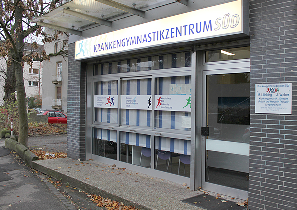 Außenansicht - Krankengymnastikzentrum Süd Markus Lücking & Natalie Leven in 44139 Dortmund