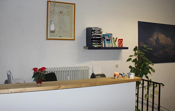 Rezeption - Krankengymnastikzentrum Süd Markus Lücking & Natalie Leven in 44139 Dortmund